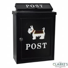 Gardag Gallery Post Box Scottie Dog