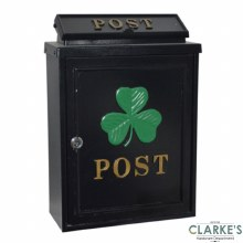 Gardag Gallery Post Box Shamrock