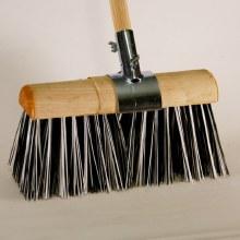 Yard Brush with Clamp 13''