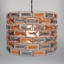 Copper & Smoke Gem Light