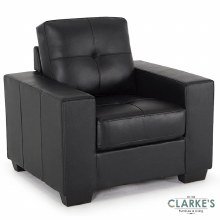 Gemona 1 Seater Black