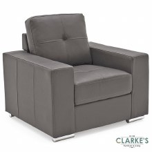 Gemona  1 Seater Grey