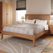 Georgia Oak 4ft6 Bed Frame