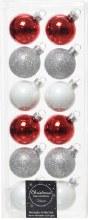 Glass Baubles 4cm