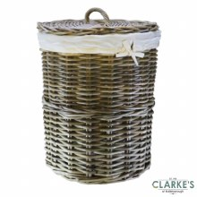 Glenweave Rattan Laundry Basket Large with Lid