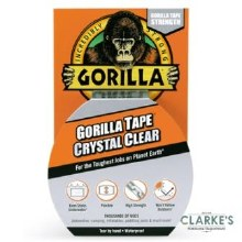 Gorilla Crystal Clear Tape 8.2m