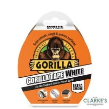 Gorilla White Duct Tape 10m