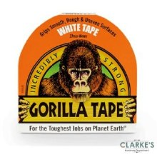 Gorilla White Duct Tape 27m