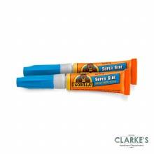 Gorilla Super Glue 2 x 5g Tubes