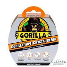 Gorilla Crystal Clear Duct Tape 16m