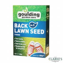 Goulding No.3 Back Lawn Seed 1.5 Kg