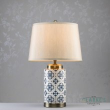 Grace Ceramic Cylinder Table Lamp 59cm