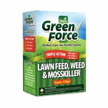Green Force Lawn Feed, Weed & Moss Killer 3kg