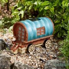 Gypsy Rose Caravan - Garden Solar Decoration