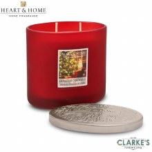 Heart & Home Home For Christmas 2 Wick Scented Ellipse Candle