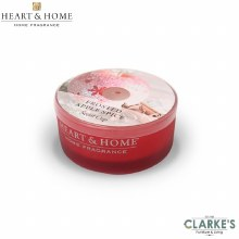 Heart & Home Frosted Apple Spice Scent Cup Candle