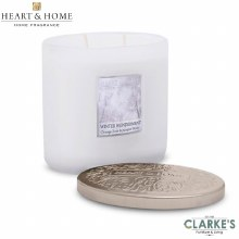 Heart & Home Winter Wonderment 2 Wick Scented Ellipse Candle