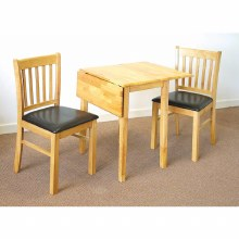 Dropleaf Dining Set. Dropleaf Table & 2 Chairs