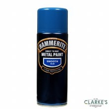 Hammerite Metal Spray Paint  Smooth Blue 400ml