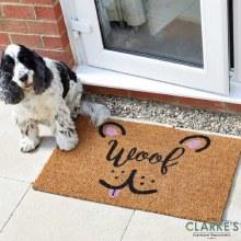 Happy Hound - Coir Door Mat 45 x 75 cm