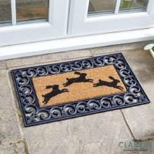 Hares! - Door Mat ( Frame not included)