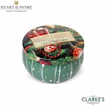 Heart & Home Christmas Tree Tin Candle