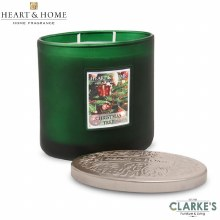 Heart & Home Christmas Tree 2 Wick Scented Ellipse Candle