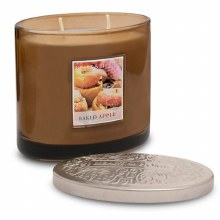 Heart & Home Backed Apple 2 Wick Scented Ellipse Candle