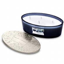 Heart & Home River Rock 4 Wick Scented Ellipse Candle