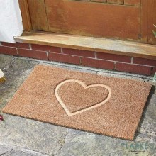 Heart Felt! - Coir Door Mat