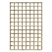 Traditional Square 100mm Trellis Panel 1.8 x 1.2m