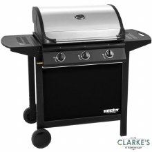 Hecht 3 Burner Gas Barbecue