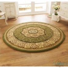 Heritage Circle Rug Green 150 x 150cm