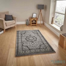Heritage Traditional Silver Rug 120 x 170cm