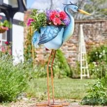 Heron - Decorative Garden Planter