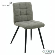 Palma Fabric Dining Chair Grey
