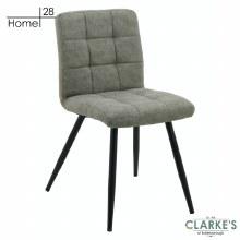 Palma Fabric Dining Chair Grey