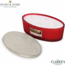 Heart & Home Home For Christmas 4 Wick Scented Ellipse Candle