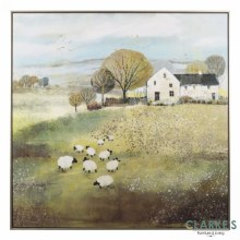 Home Farm - wall art by Sabrina Roscino