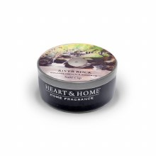 Heart & Home River Rock Scent Cup Candle