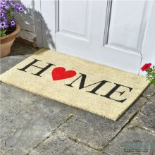 Home - Coir Door Mat 45 x 75cm