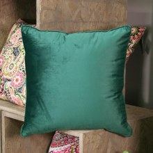 Velvet Emerald Green Cushion