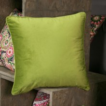 abstract feather grey cushion