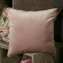 Velvet Dusty Pink Cushion