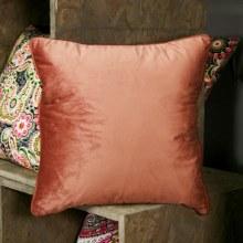 Velvet Rose Quartz Cushion
