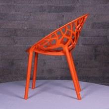 Millie Trellis Garden Chair Orange
