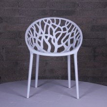 Millie Trellis Garden Chair White