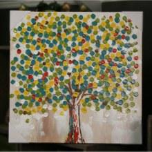 Summer Leaf Glory Oil Painting