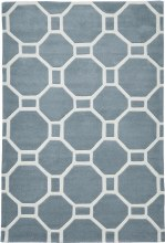 Hong Kong Rug HK4338 Light Blue 120x170cm