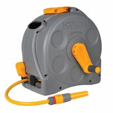 Hozelock 2 in 1 Compact Reel with Hose 25 Meter